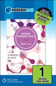 Human Perspectives Units 3 & 4 (1 Access Code Card) - 9780170351232