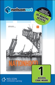 Experience of Nationhood (1 Access Code Card) - 9780170351850