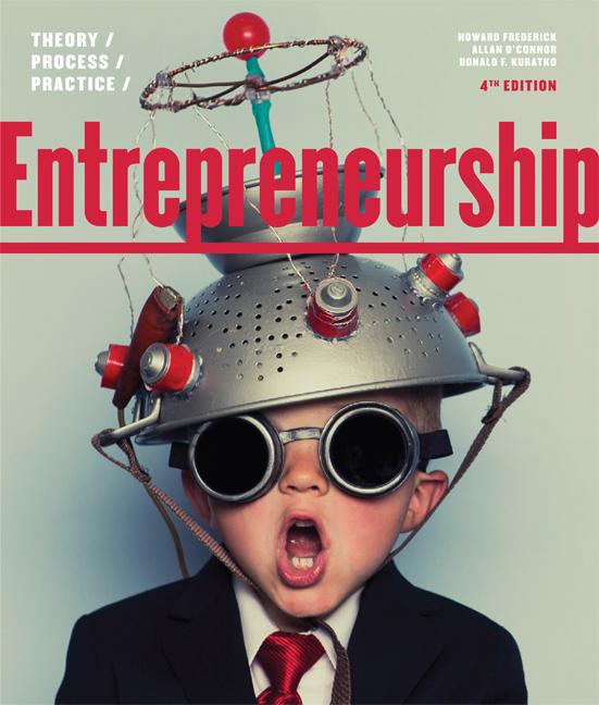 Entrepreneurship: Theory/Process/Practice - 9780170352550