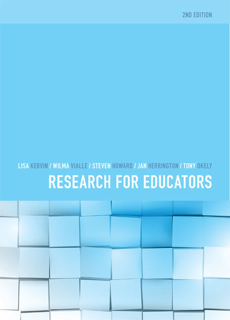 Research for Educators - 9780170352826
