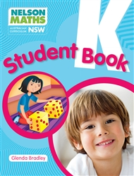 Nelson Maths AC NSW Student Book Kindergarten - 9780170352864