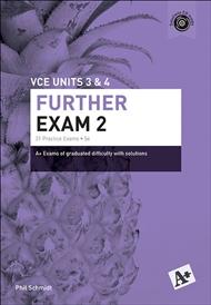 A+ Further Mathematics Exam 2 VCE Units 3 & 4 - 9780170354110