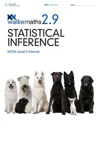 Walker Maths 2.9 Statistical Inference - 9780170354257