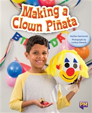 Making a Clown Pinata - 9780170354295