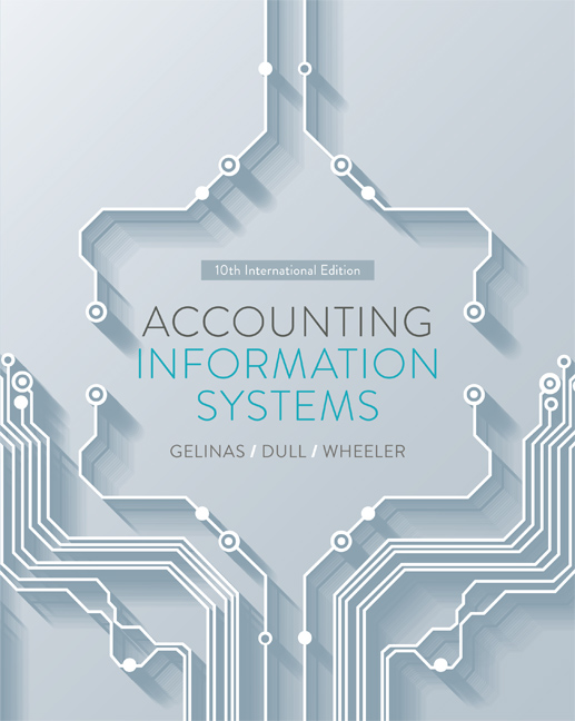 Accounting Information Systems - 9780170355391