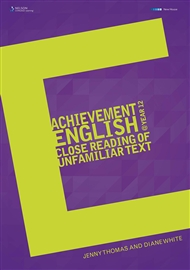 Achievement English @ Year 12 Close Reading of Unfamiliar Text - 9780170355551