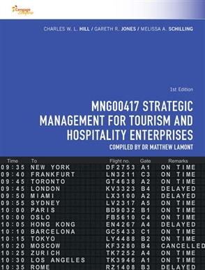 CP0992 - MNG00417 Strategic Management for Tourism and Hospitality Enterprises - 9780170358583