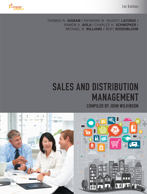 CP0997 - Sales and Distribution Management, 1st Edition - 9780170360159