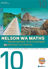 Nelson WA Maths for the Australian Curriculum 10 Revised Edition (Student Book & 4 Access Codes) - 9780170361941