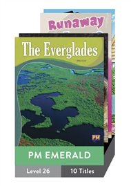 PM Emerald Guided Readers Level 26 Pack x 10 - 9780170363778