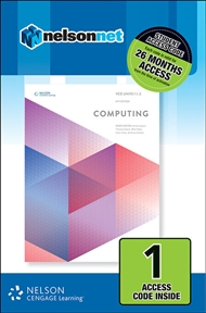 VCE Computing Units 1 & 2 (1 Access Code Card) - 9780170364768