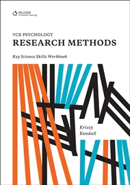 VCE Psychology Research Methods Key Science Skills Workbook - 9780170365642