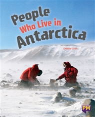 People Who Live in Antarctica - 9780170365741