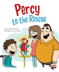 Percy to the Rescue - 9780170365758