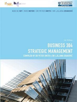 CP1016 - BUSINESS 304 Strategic Management - 9780170366564