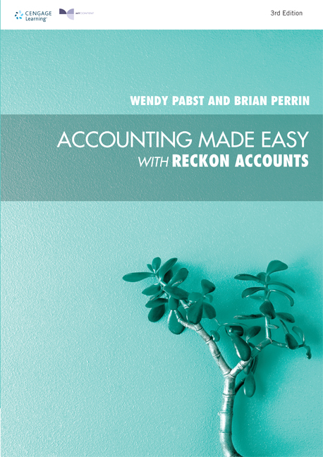 PP1021 - Accounting Made Easy with Reckon Accounts - 9780170366632