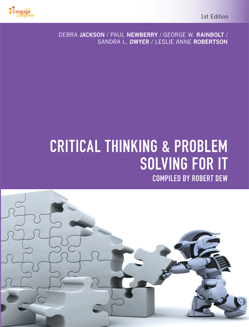 CP1020 - Critical Thinking & Problem Solving for IT - 9780170366656