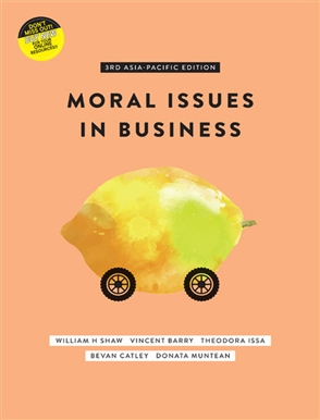 Moral issues in business buy textbook william shaw moral issues in business with student resource access 12 months fandeluxe Gallery