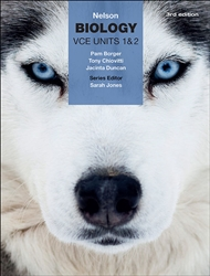 Nelson Biology VCE Units 1 & 2 (Student Book with 4 Access Codes) - 9780170368377