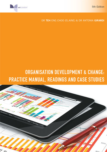 PP1041 - Organisation Development & Change: Practice Manual, Readings and Case Studies - 9780170369480