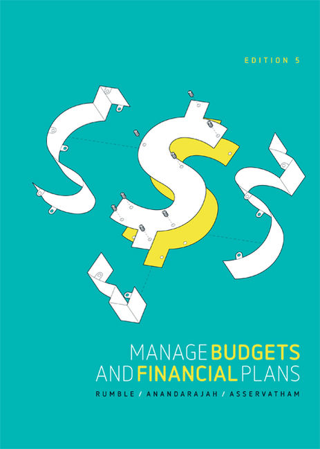 Manage Budgets and Financial Plans - 9780170369640