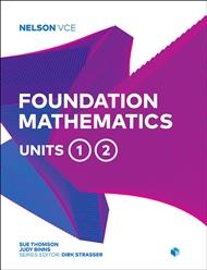 Nelson VCE Foundation Mathematics Units 1 & 2 - 9780170370752
