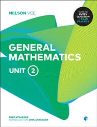 Nelson VCE General Mathematics Unit 2 (Student Book with 4 Access Codes) - 9780170370868