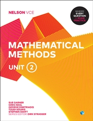 Nelson VCE Mathematical Methods Unit 2 (Student Book with 4 Access Codes) - 9780170371025