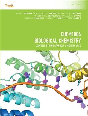 CP1049 - CHEM1004 Biological Chemistry - 9780170371599