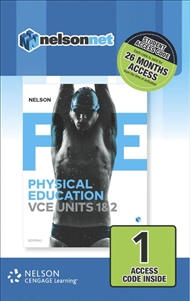Nelson Physical Education VCE Units 1&2 (1 Access Code Card) - 9780170373791