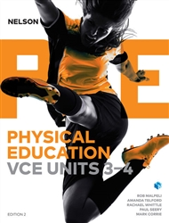 Nelson Physical Education VCE Units 3&4 (Student Book and 4 Access Codes) - 9780170373852