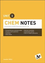 A+ Chemistry Notes VCE Unit 3 - 9780170373982