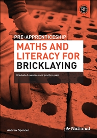 A+ Pre-apprenticeship Maths and Literacy for Bricklaying - 9780170374101