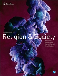 Religion and Society: Units 1 – 4 for VCE (Student Book with 4 Access Codes) - 9780170374224