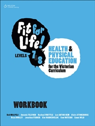 Fit for Life! for Victoria Levels 7–8 Workbook - 9780170376198