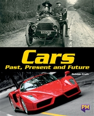 Cars Past, Present and Future - 9780170379359