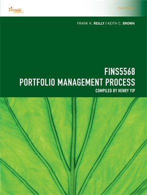 CP1089 - FINS5568 Portfolio Management Process - 9780170382816