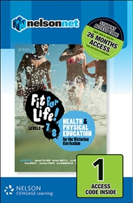 Fit for Life! for Victoria Levels 7 – 8 (1 Access Code Card) - 9780170383127
