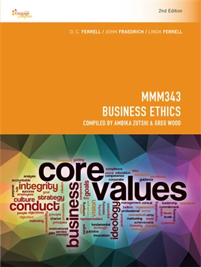 CP1087 - MMM343 Business Ethics - 9780170384988
