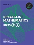 Nelson VCE Specialist Mathematics Units 3 & 4 (Student Book with 4 Access Codes)