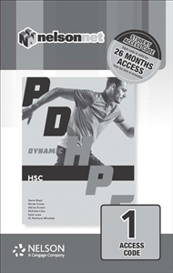 Dynamic PDHPE for HSC (1 Access Code Card) - 9780170386586