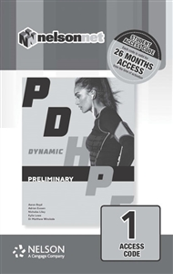 Dynamic PDHPE for Preliminary (1 Access Code Card) - 9780170386654