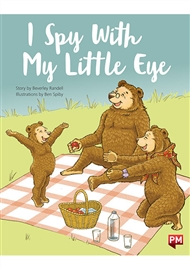 PM Educational Lap Book: I Spy with My Little Eye (Baby Bear Lap Book and Foam Board Cut Out) - 9780170387576