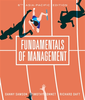 Fundamentals of Management - 9780170388443