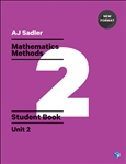 Sadler Maths Methods Unit 2 – Revised with 2 Access Codes