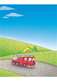 PM Educational Postcard Pack: Fire Engine - 9780170391399