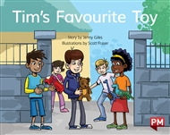 Tim's Favourite Toy - 9780170394840