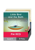 PM Red Guided Readers Fiction Level 3 Pack x 8
