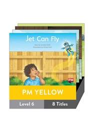 PM Yellow Guided Readers Fiction Level 6 Pack x 8 - 9780170398329
