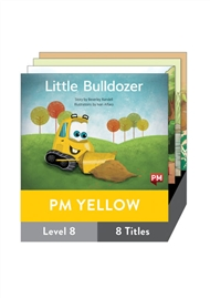 PM Yellow Guided Readers Fiction Level 8 Pack x 8 - 9780170398343